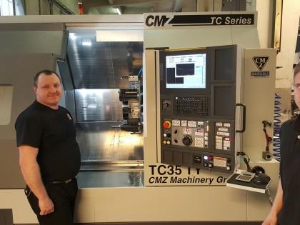 Vår første CMZ levert til Levo