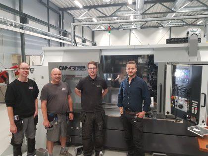 Pedersen sveis & Maskinering har installert ny CMZ dreiemaskin!