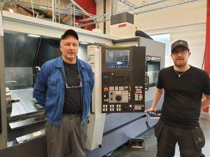 K. Lerøy Metallindustri AS har installert ny CMZ TD45 dreiebenk!